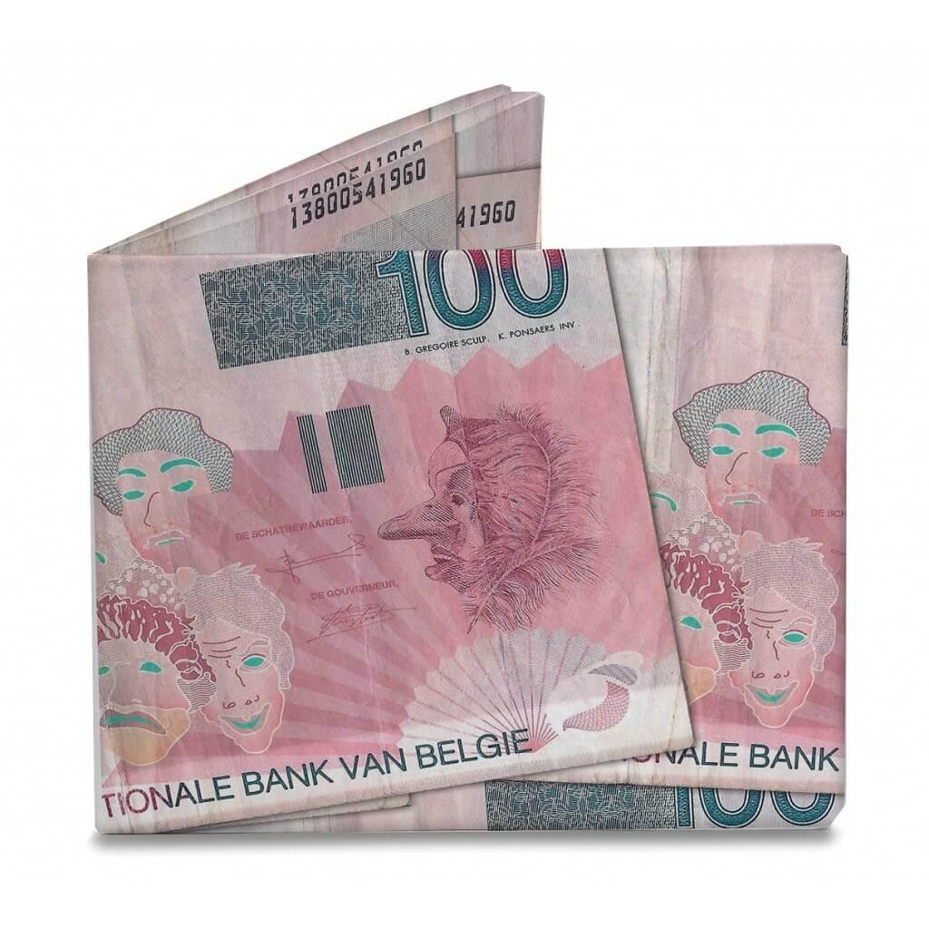 Mighty Wallet Billfold Portemonnee 100 Belgische Frank J. Ensor-0