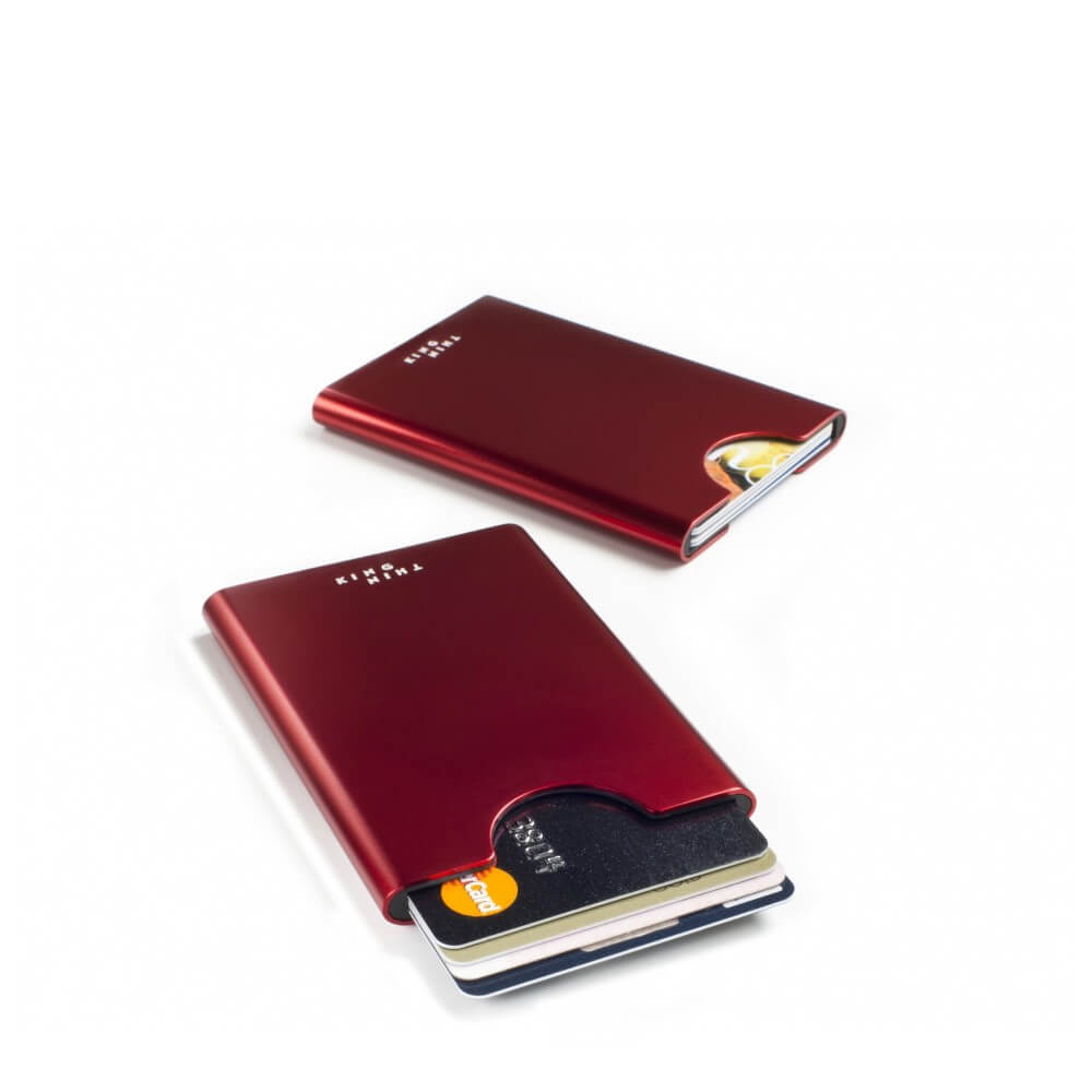 Thin King Gordito Card Case Ruby Red-0