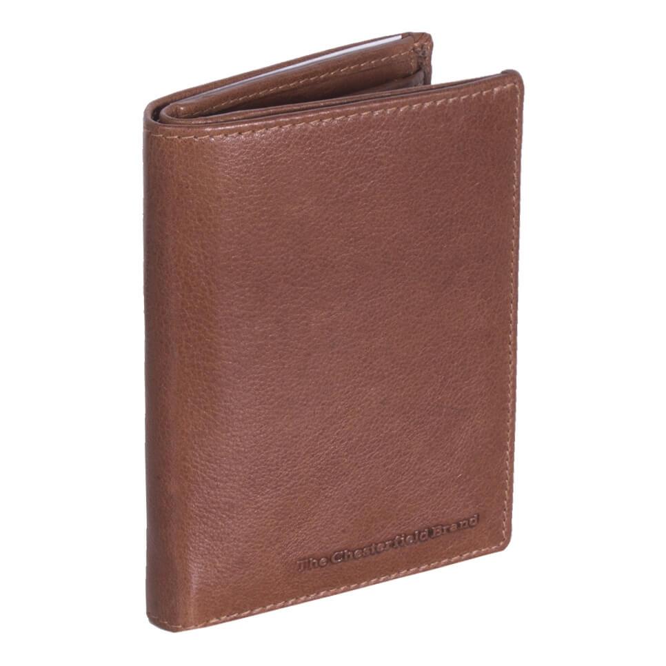 Chesterfield Hoge Billfold - Portemonnee RFID Hank Cognac