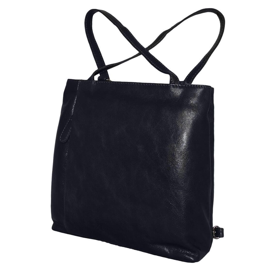 97007551f43 Prachtige echt leren rugzak/schoudertas van Czanne. De tas gemaakt van  hoogwaardige kwaliteit leer voelt super aan en is soepel. Deze handige tas  kunt zowel ...