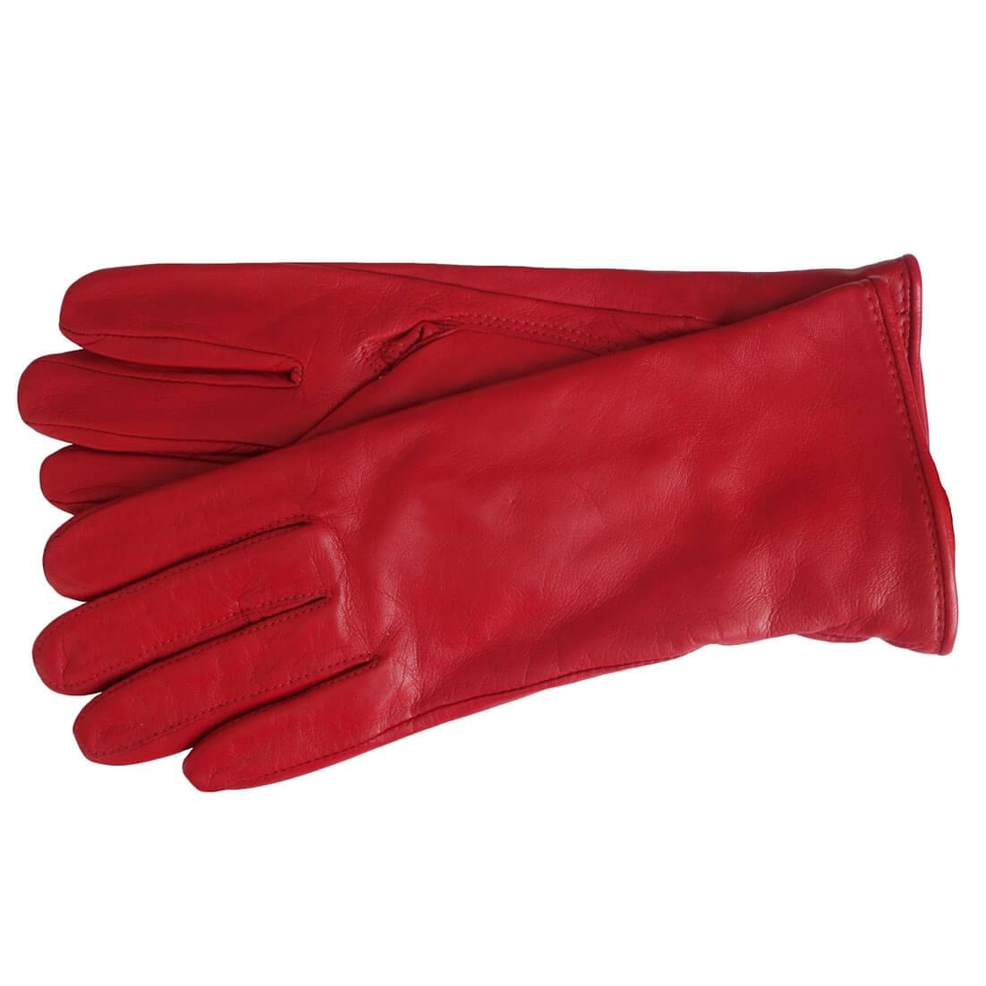 Rode Leren Dames Jas.Laimbock Dames Handschoenen Stafford Rood Maat 7 5 Online Kopen