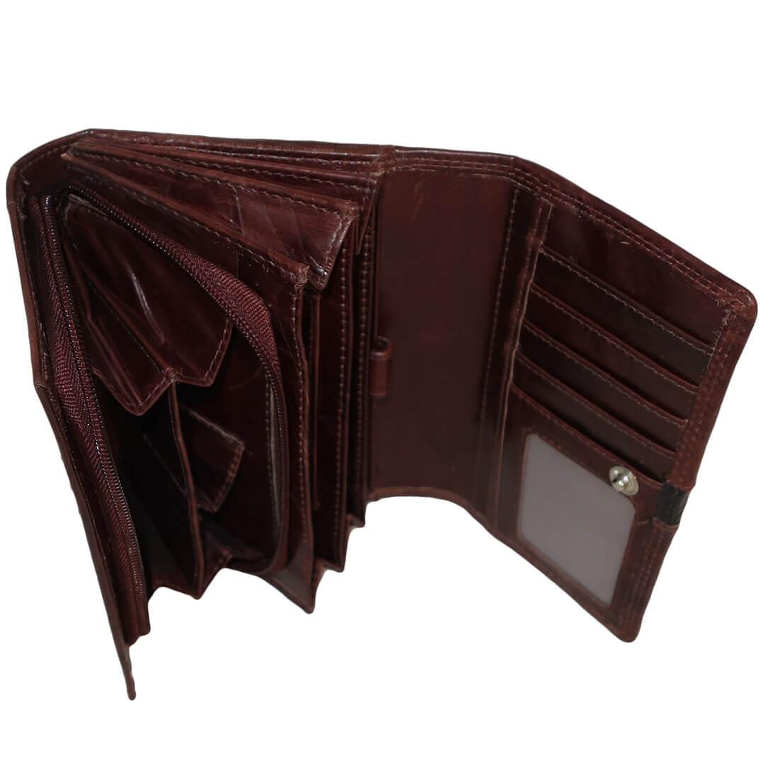 e08e6e5dbad ... leather_design_portemonnee_croco_bruin_sh_10_c_5. Leuke dames Leather  Design portemonnee met overslag. De portemonnee is gemaakt van prachtig  echt leer ...