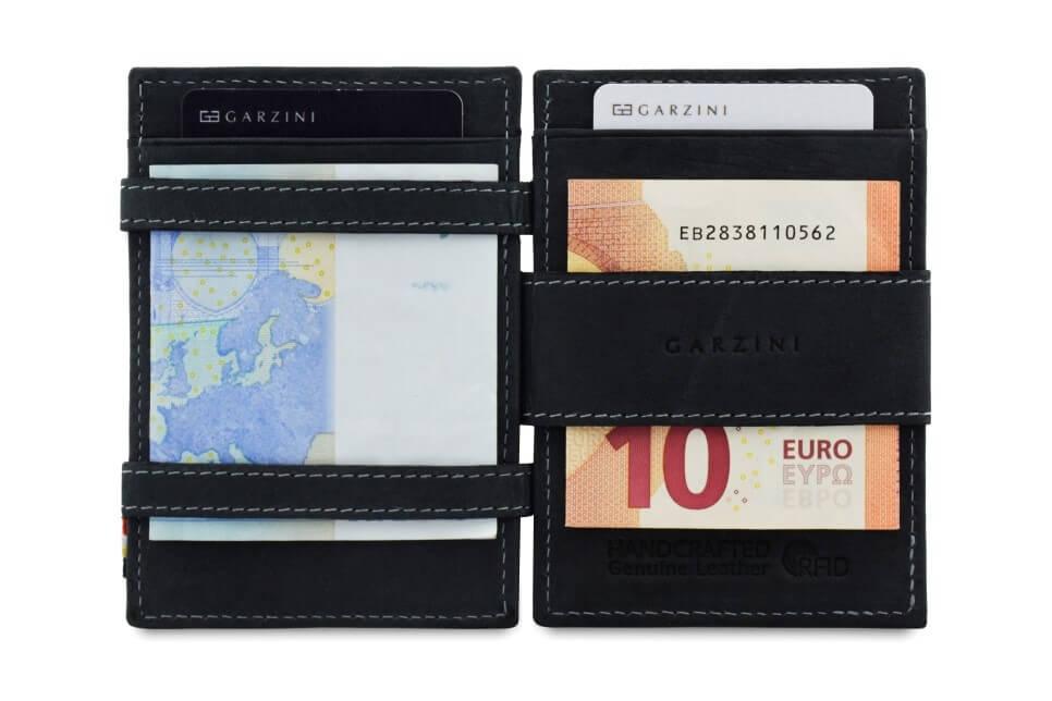 Portemonnee 10 Euro.Garzini Portemonnee Essenziale Coin Pocket Carbon Black Online Kopen
