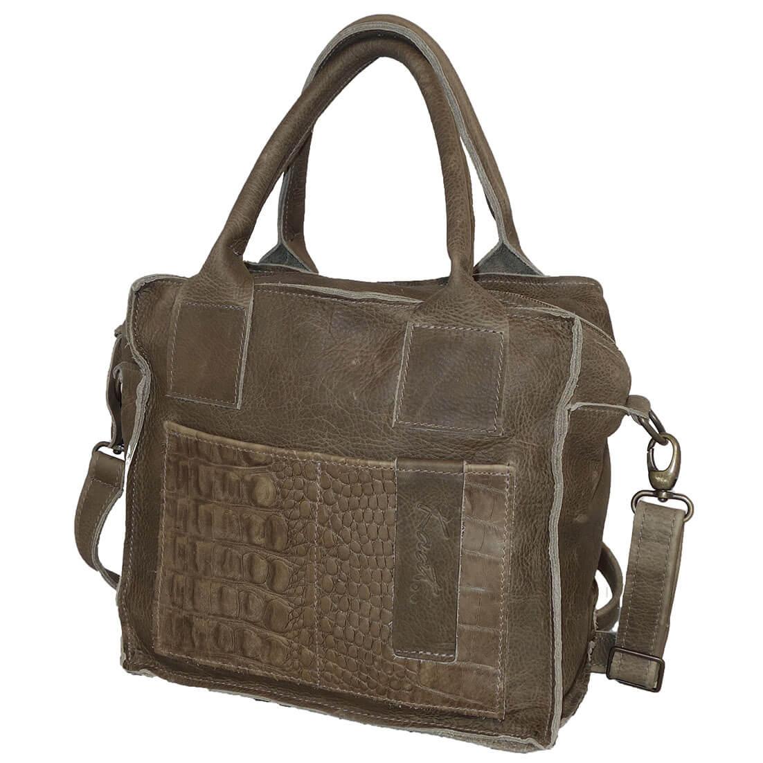 8d318cc2753 Prachtige echt leren schoudertas / handtas uit de Sevilla serie van Kaat.  Het leer van de tas voelt super aan en heeft een stoere uitstraling.