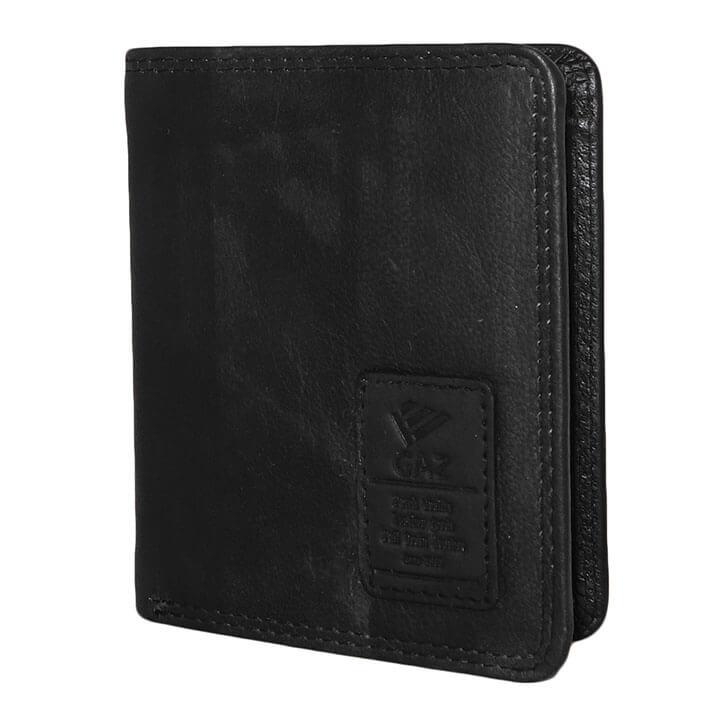 Gaz Hoge Billfold - Portemonnee RFID Zwart