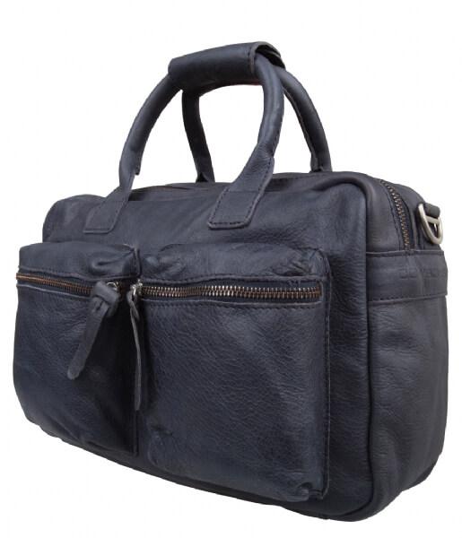 0aeb67b9956 Cowboysbag blauw grijs