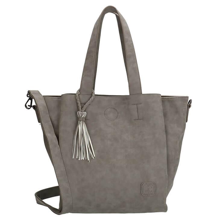 Leuke handtas   schoudertas van Enrico Benetti. De tas is gemaakt van mooi  kunstleer met een prettige feel. Aan de tas zit een kwastje 8205b0344d
