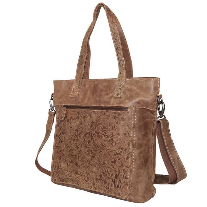 30ce2ac5358 Prachtige echt leren shopper/schoudertas van Bizzoo. De tas gemaakt van hoogwaardige  kwaliteit leer voelt goed aan en is stevig. De tas heeft een mooie ...