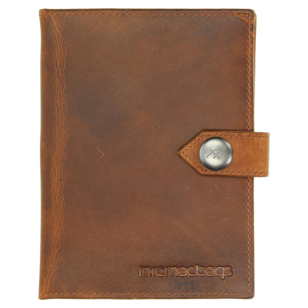 Micmacbags Colorado Paspoort Houder Cognac