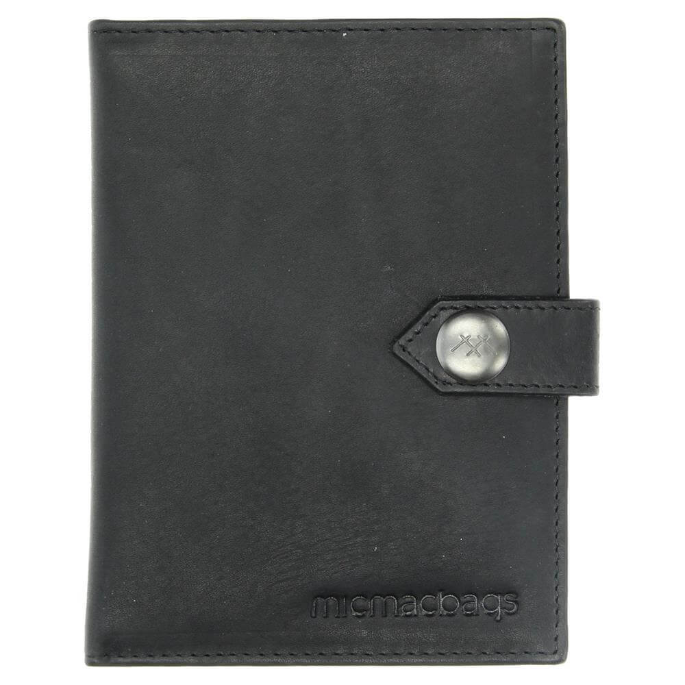 Micmacbags Colorado Paspoort Houder Zwart