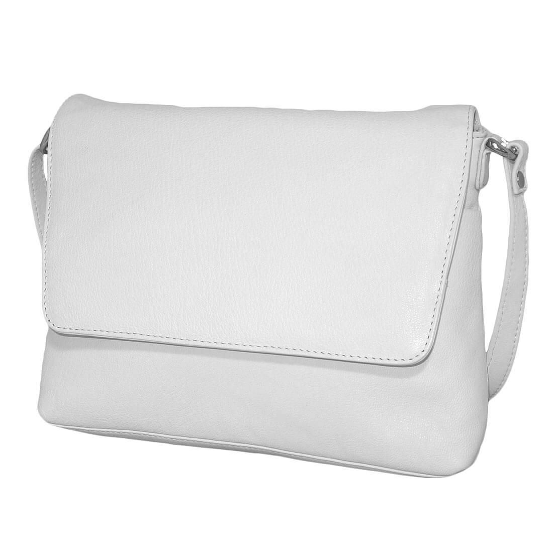049f3073fa2 Prachtige echt leren schoudertas met overslag van Leather Design. Het leer  van de schoudertas voelt goed aan en is soepel.
