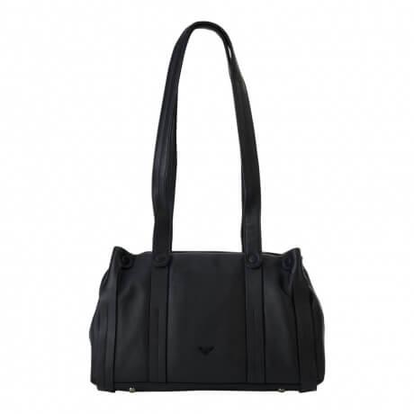9e1f0b60f50 Mooie echt leren handtas / shopper van Voi. De tas is gemaakt van hoogwaardige  kwaliteit echt leer, het leer voelt goed aan. De tas beschikt over een ruim  ...