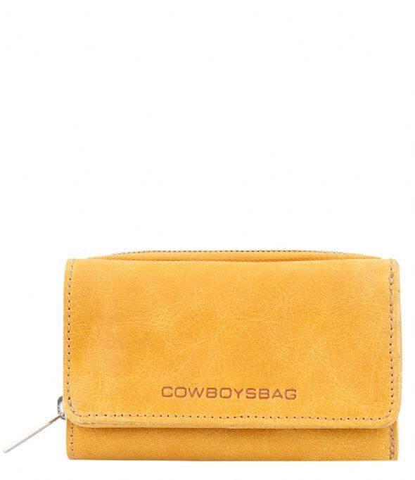 a0c6abae17f Cowboysbag Portemonnee Purse Warkley Amber.  Cowboysbag_Bag_Purse_Warkley_Portemonnee_Amber_Oker_Geel