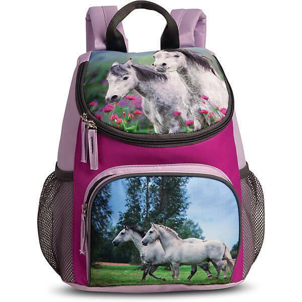 c9cdaa8121a Fabrizio Kinder Rugzak Paard Paars   Online Kopen   Snelle Levering