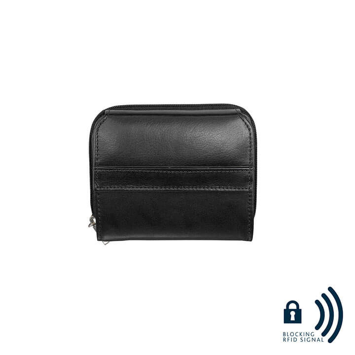 dR Amsterdam 67-Series Dames Portemonnee RFID Zwart