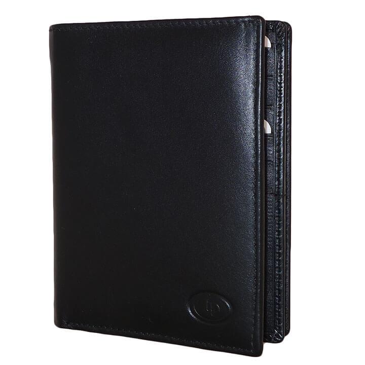 Paspoort Portemonnee.Leather Design Paspoort Portemonnee Zwart Online Kopen