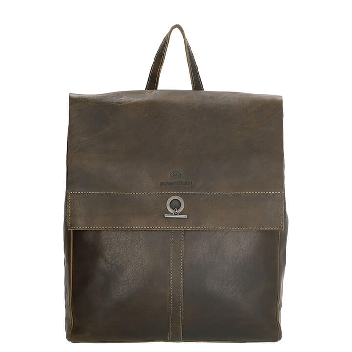 24b7800a313ab0 Micmacbags Rugzak Golden Gate Olijf | Online Kopen | Snelle Levering