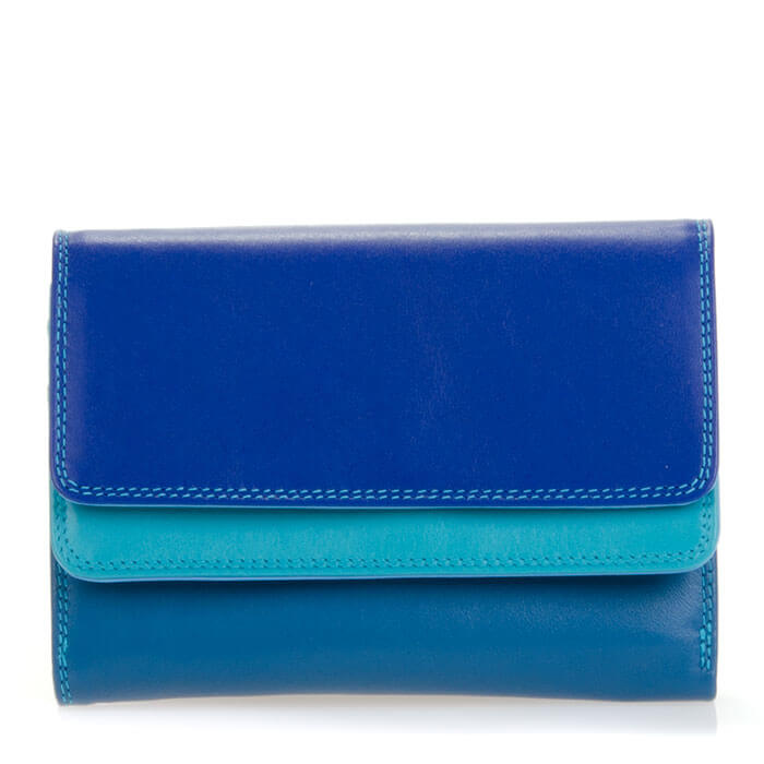 Mywalit Portemonnee Double Flap PurseWallet Seascape | Shop Online