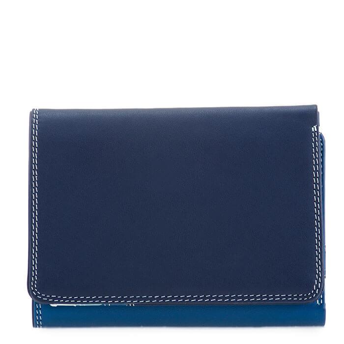 Portemonnee Voor Veel Pasjes.Mywalit Portemonnee Tri Fold S Denim Shop Online