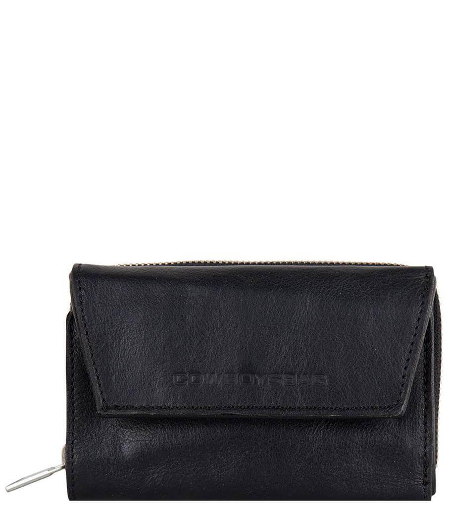 Cowboy Portemonnee Dames.Cowboysbag Portemonnee Purse Etna Zwart Shop Online