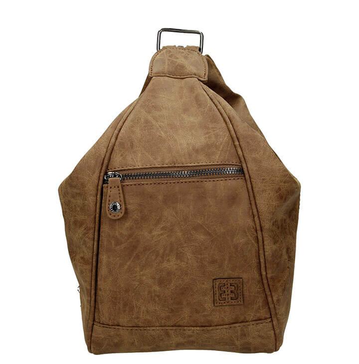 16d433ce660 Mooie rugzak/schoudertas uit de Ardèche serie van Enrico Benetti. Deze tas  uit de Ardèche serie is zeer geliefd, doordat de tas zowel als rugzak en  als ...