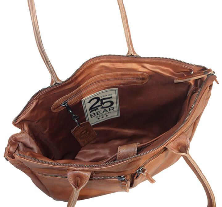 9ffd5c49001 ... Bear_Design-Schoudertas_Laptoptas_Binni_CP_1657_Cognac_4. Zeer  praktische schoudertas met laptopvak van Bear Design. Deze business tas ...