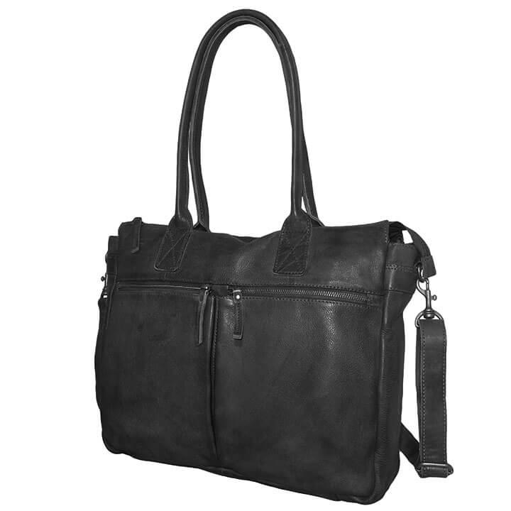 2fa952b4697 Zeer praktische schoudertas met laptopvak van Bear Design. Deze business tas  van Bear Design is een ruime schoudertas, de tas is geschikt voor A4  formaat.