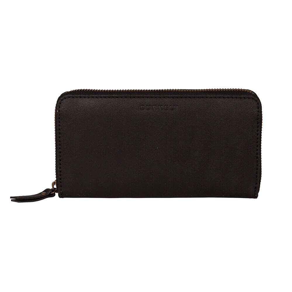 46b233e6d17 Burkely Vintage Charly Portemonnee RFID Zwart | Shop Online