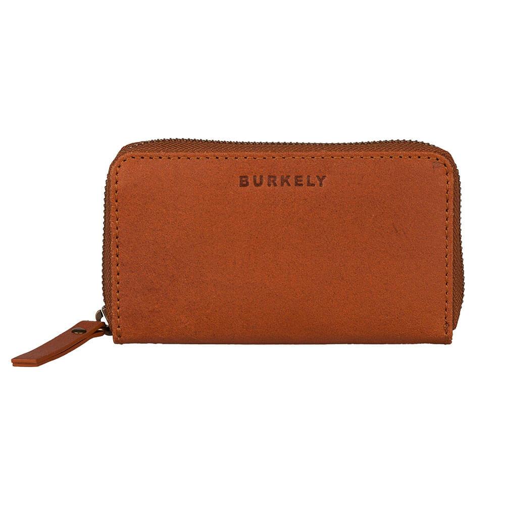 Burkely Leren Portemonnee.Burkely Vintage Jamie Portemonnee Rfid Cognac Shop Online