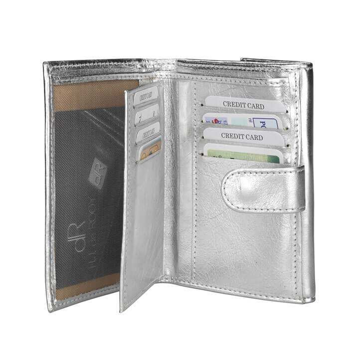 df753f6c345 ... dR Amsterdam - 48119 - Silver - 8712099027869 - Inside. Mooie dames  portemonnee ...