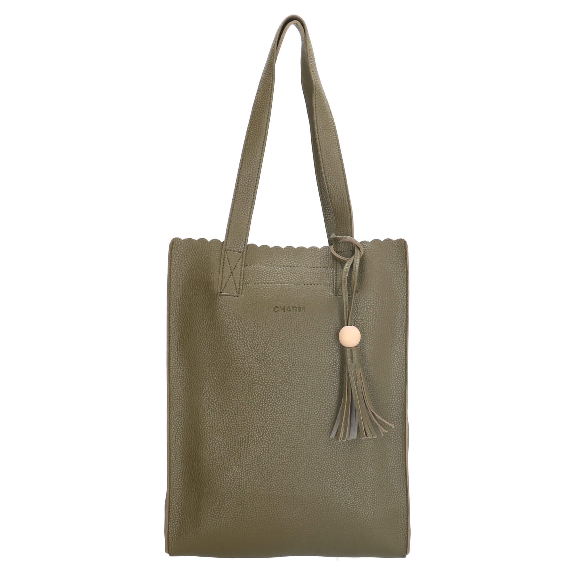 fcef6715323 Charm Shopper Olijf Groen | Online Kopen | Snelle Levering