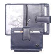 Zoom Wallet RFID met Moneyclip Blauw