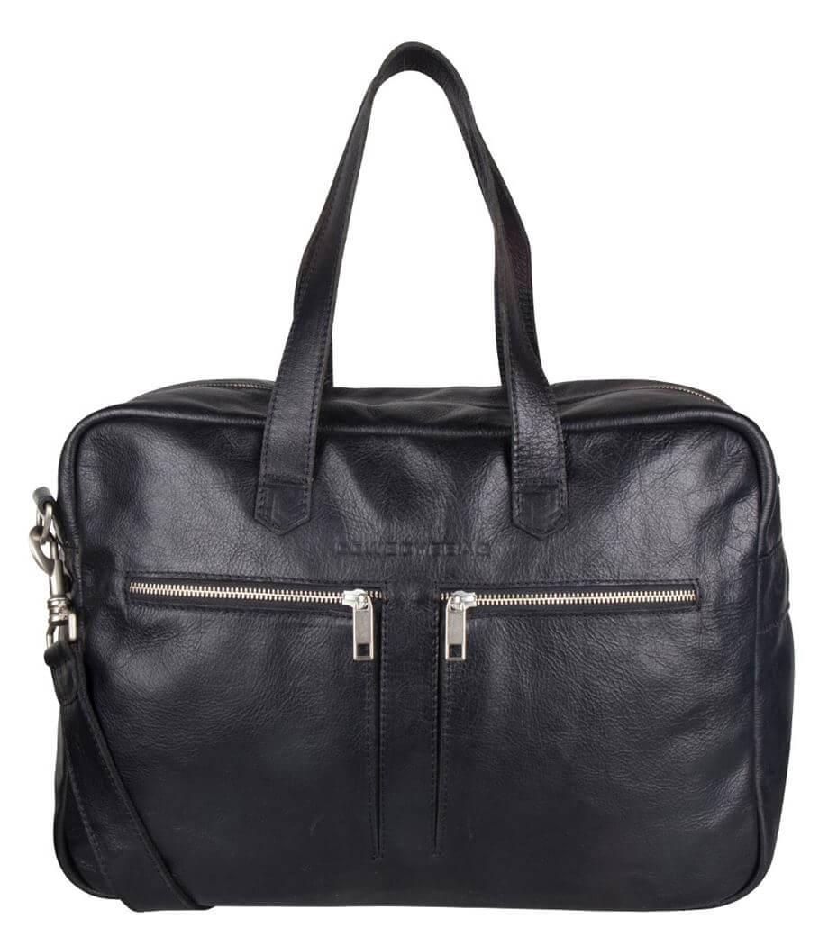 Cowboysbag Schoudertas Bag Kyle 15'' Zwart