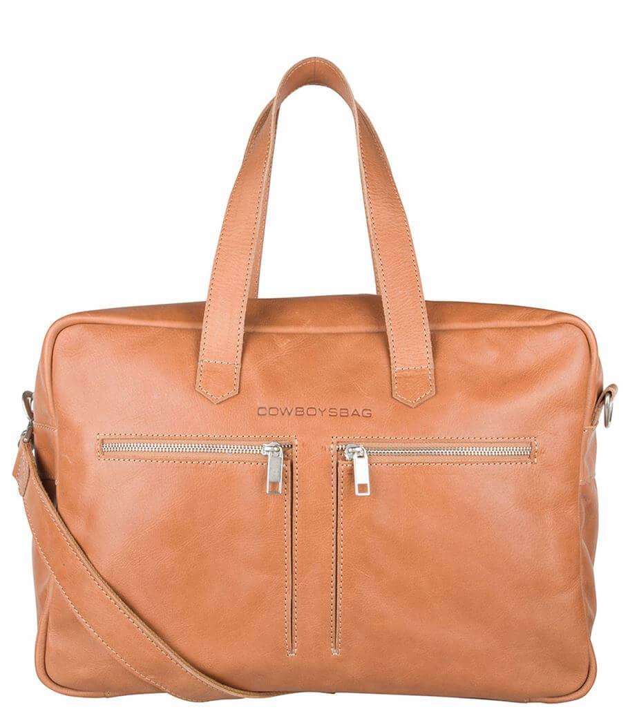 Cowboysbag Schoudertas Bag Kyle 15'' Camel