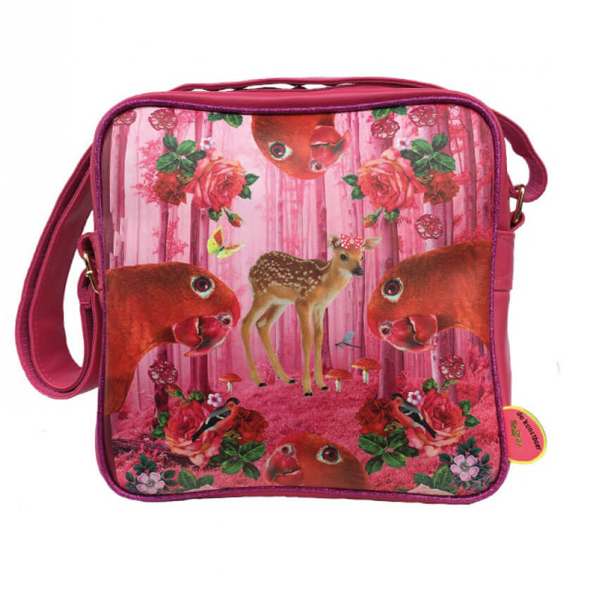 De Kunstboer Squarebag BambiParrots | Online Kopen | Snelle Levering