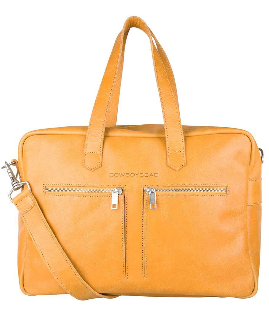 Cowboysbag Schoudertas Bag Kyle 15'' Amber