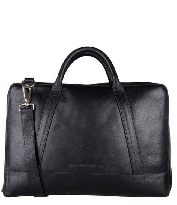 Cowboysbag Schoudertas Laptop Bag 15.6'' Holden Zwart