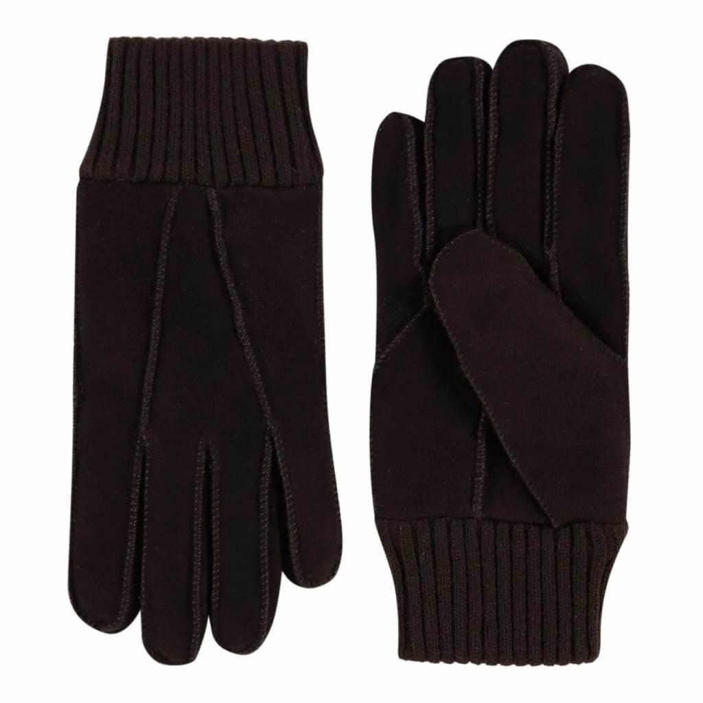 Laimböck Dames Handschoenen Lammy Rave Zwart Maat 7.5