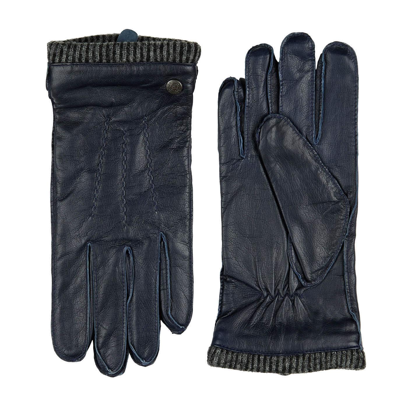 Laimböck Heren Handschoenen Thornbury Navy Maat 9.5