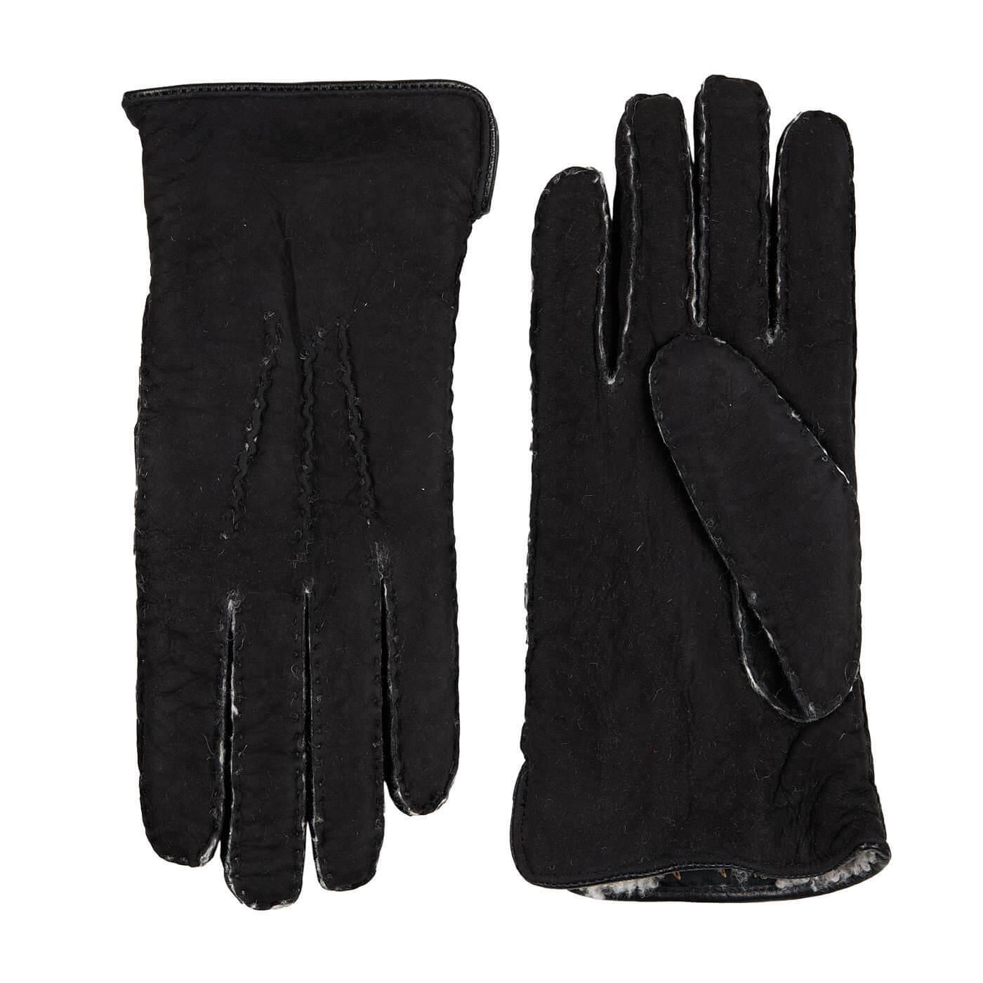 Laimböck Heren Handschoenen Lammy Trondheim Zwart Maat 9