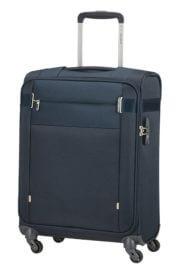 Samsonite Handbagage Koffer Citybeat Spinner 55 Navy Blue