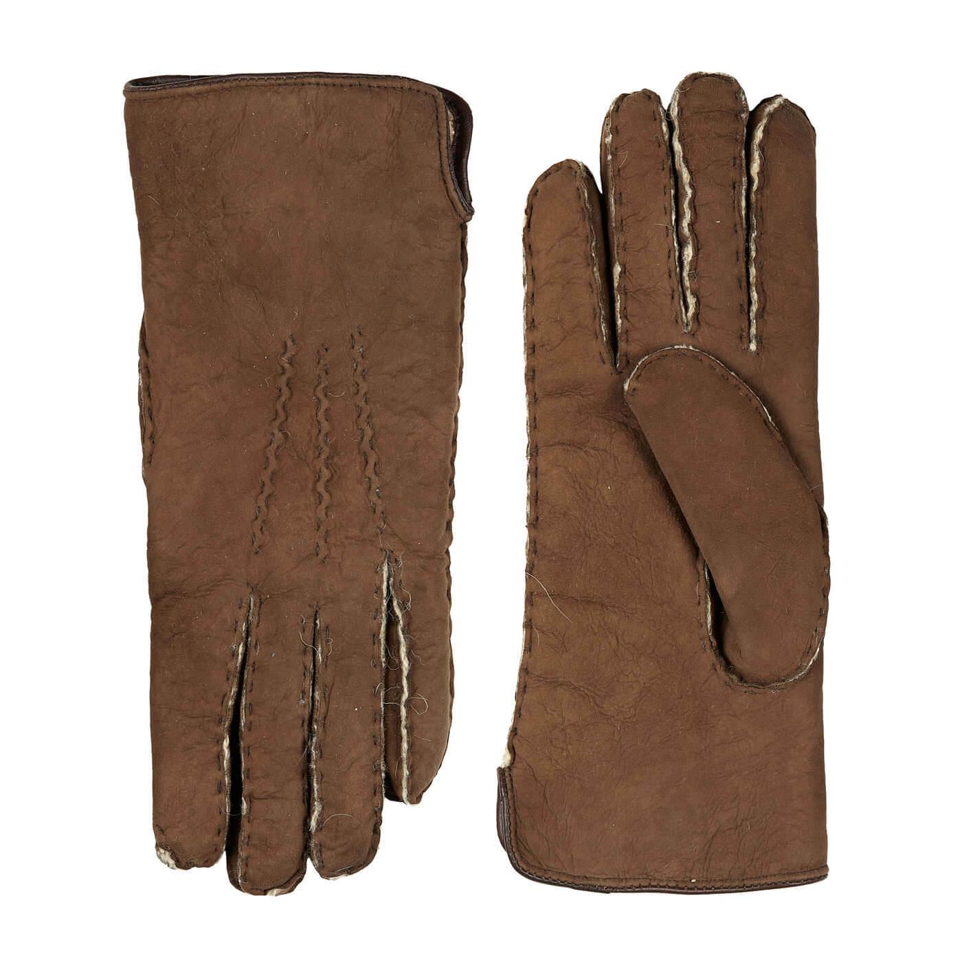 Laimböck Heren Handschoenen Lammy Trondheim Havana Maat 10