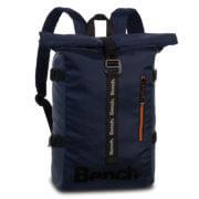 "Bench Rolltop Backpack Rugzak 15"" Donker Blauw"
