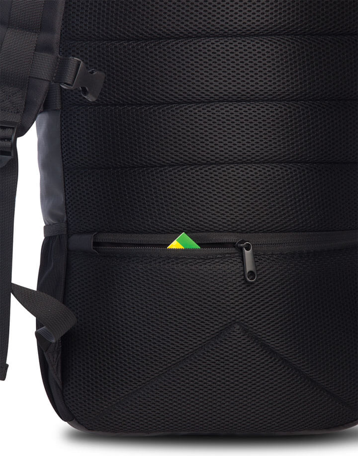 Bench Rolltop Backpack Rugzak 15'' Zwart | Shop Online