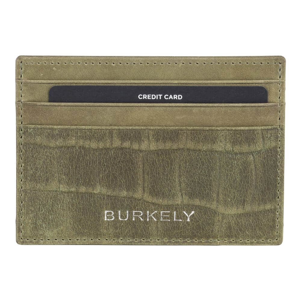 Burkely Croco Cody CC Holder RFID Licht Groen