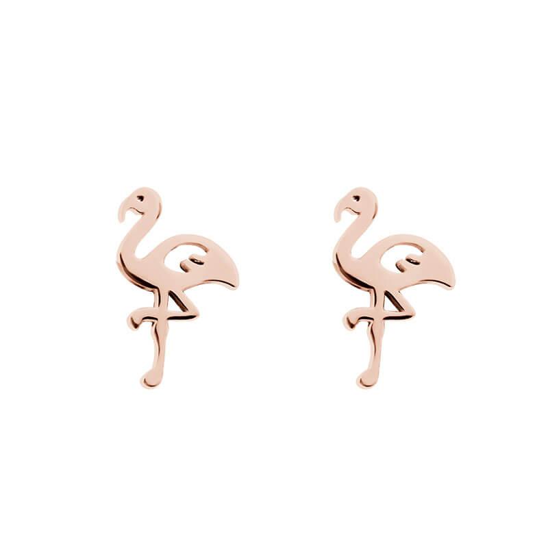 Oorbellen flamingo