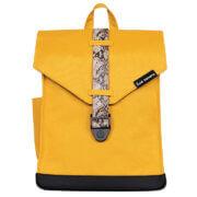 "Bold Banana Envelope Backpack Rugzak 15.6"" Yellow Mamba"