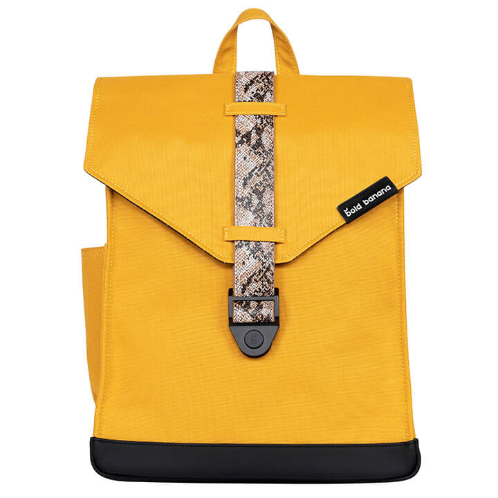 Bold Banana Original Backpack Rugzak 15.6'' Yellow Mamba