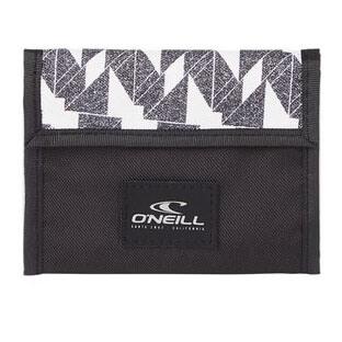 O'Neill Wallet Portemonnee White AOP Black
