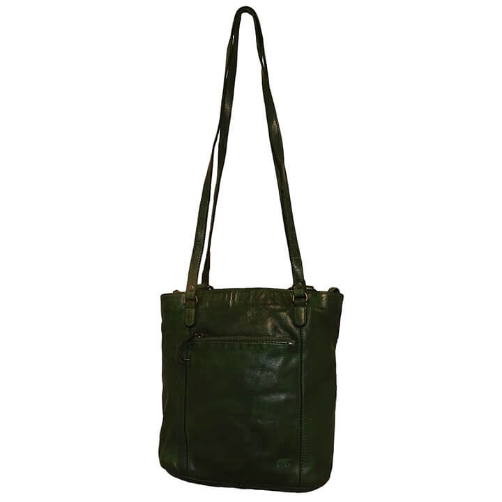 Bear Design Shopper / Rugzak Sandy Groen